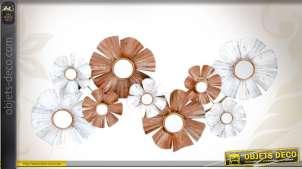 decoration murale fleur produits hors catalogue. Black Bedroom Furniture Sets. Home Design Ideas