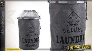 Panier à linge Deluxe Laundry Service avec doublure