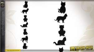 Tableaux noir semainier motifs chats
