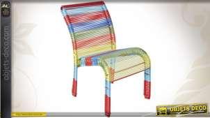 Chaise colorée de style moderne pour enfant