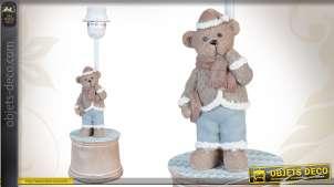 Lampe de chevet déco ourson