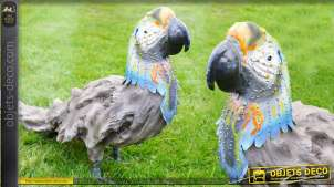 Décoration animalière : le perroquet