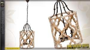 Suspension décorative patinée de style vintage