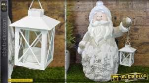 Déco Père-Noël avec lanterne