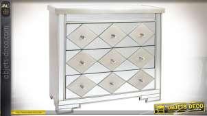 Commode à 3 tiroirs Art Déco de style vénitien