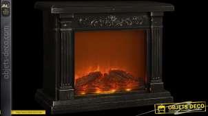 Foyer de cheminée flammes factices en LED pour  décoration d'ambiance 42 cm