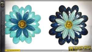 decoration murale fleur. Black Bedroom Furniture Sets. Home Design Ideas