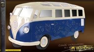 Combi Volkswagen déco murale métal