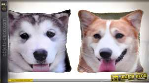 COUSSIN POLYESTER 34X15X34 295 GR. CHIEN 2 MOD.