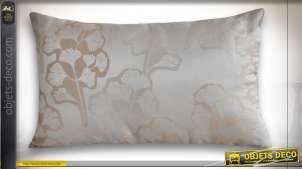 COUSSIN POLYESTER 50X30 350 GR. GINKGO BEIGE