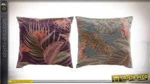 COUSSIN POLYESTER 45X45 420 GR. TROPICAL 2 MOD.