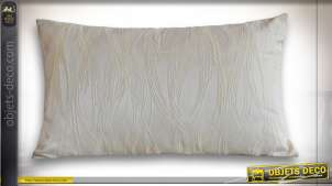 COUSSIN POLYESTER 50X30 350 GR. PLUMES IVOIRE
