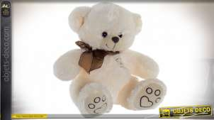 PELUCHE POLYESTER 28X28X30 OURS