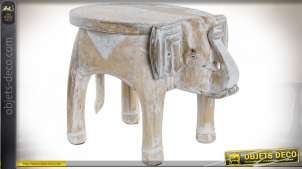 TABLE AUXILIAIRE MANGUE ALUMINIUM 34X47X35,5