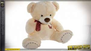 PELUCHE POLYESTER 70X65X57 2,12 OURS