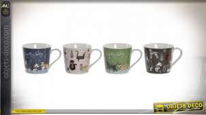 MUG NEW BONE 13X9,5X9 400ML. ANIMAUX DE COMPAGNIE