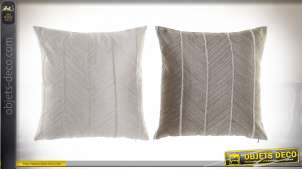 COUSSIN POLYESTER 45X45 310 GR. ZIGZAG 2 MOD.