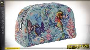 TROUSSE DE TOILETTE PU 26X12,5X16 0,18 TROPICAL