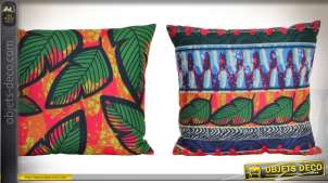 COUSSIN POLYESTER 45X45 540 GR. TROPICAL 2 MOD.