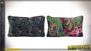 COUSSIN POLYESTER 50X30 380 GR. TROPICAL 2 MOD.