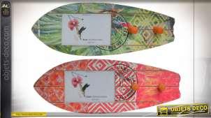 PORTEMANTEAU MURAL BOIS 40X15X7 SURF 2 MOD.