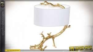 LAMPE DE TABLE RÉSINE MÉTAL 58X25X61 61 BRANCHE