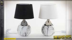 LAMPE DE TABLE CÉRAMIQUE 23X23X36 2 MOD.
