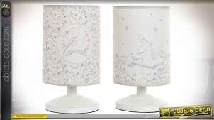 LAMPE DE TABLE POLYESTER 13,5X13,5X24 CIGOGNE 2 MO