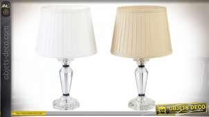 LAMPE DE TABLE VERRE 28X46 2 MOD.