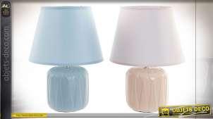 LAMPE DE TABLE DOLOMITE 22X22X31 E14 2 MOD.