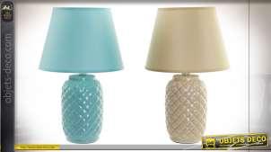 LAMPE DE TABLE DOLOMITE 22X22X35 E14 2 MOD.