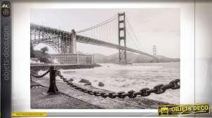 TABLEAU TOILE 150X3X100 SAN FRANCISCO