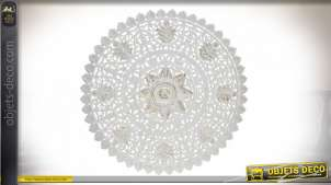 DÉCORATION MURALE MDF 90X2X90 MANDALA SCULPTURE