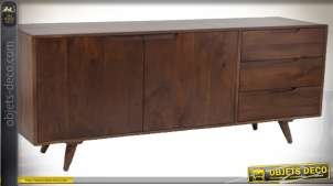 COMMODE MANGUE 145X41X76 MARRON