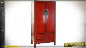 ARMOIRE ORME 88X52X180 ROUGE