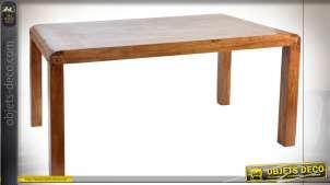 TABLE ACACIA 160X90X76 NATUREL