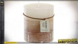 BOUGIE CIRE 8,7X10 2% PERFUME TRICOLOR