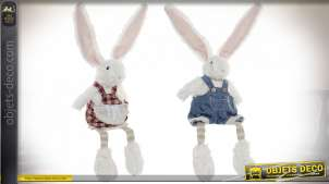 FIGURE POLYESTER 17X10X53 LAPIN 2 MOD.