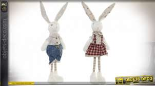 FIGURE POLYESTER 28,5X5X14 LAPIN 2 MOD.