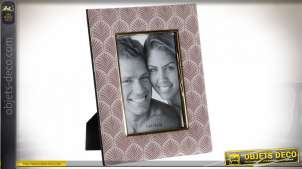 CADRE PHOTO MDF POLYESTER 13X18 22X2X27 FEUILLE