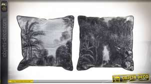 COUSSIN POLYESTER 45X45 490 GR JUNGLE 2 MOD.