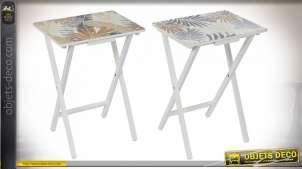 TABLE AUXILIAIRE BOIS 48X35X66 TROPICAL 2 MOD.