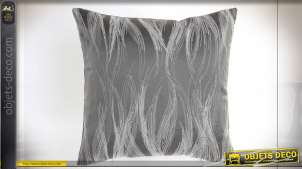 COUSSIN POLYESTER 45X45 450 GR. GRIS