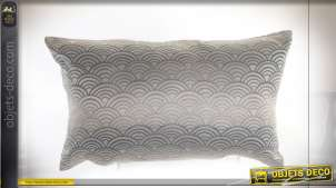COUSSIN POLYESTER 50X30 350 GR. CLOUDS GRIS