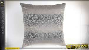 COUSSIN POLYESTER 45X45 450 GR. CLOUDS GRIS