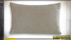 COUSSIN POLYESTER 50X30 450 GR. LISSE GRIS CLAIR