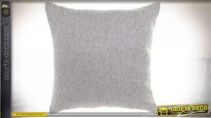 COUSSIN POLYESTER 45X45 650 GR. LISSE GRIS CLAIR
