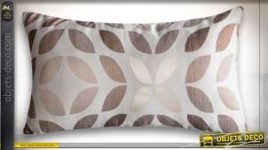 COUSSIN POLYESTER 50X30 350 GR. FEUILLES