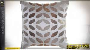COUSSIN POLYESTER 45X45 450 GR. FEUILLES