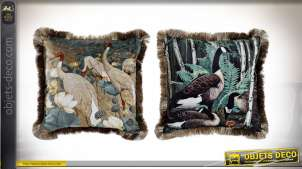 COUSSIN POLYESTER 45X45 550GR 2 MOD.